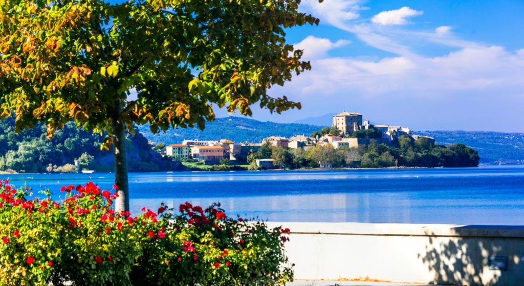 Jezioro Bolsena, Włochy