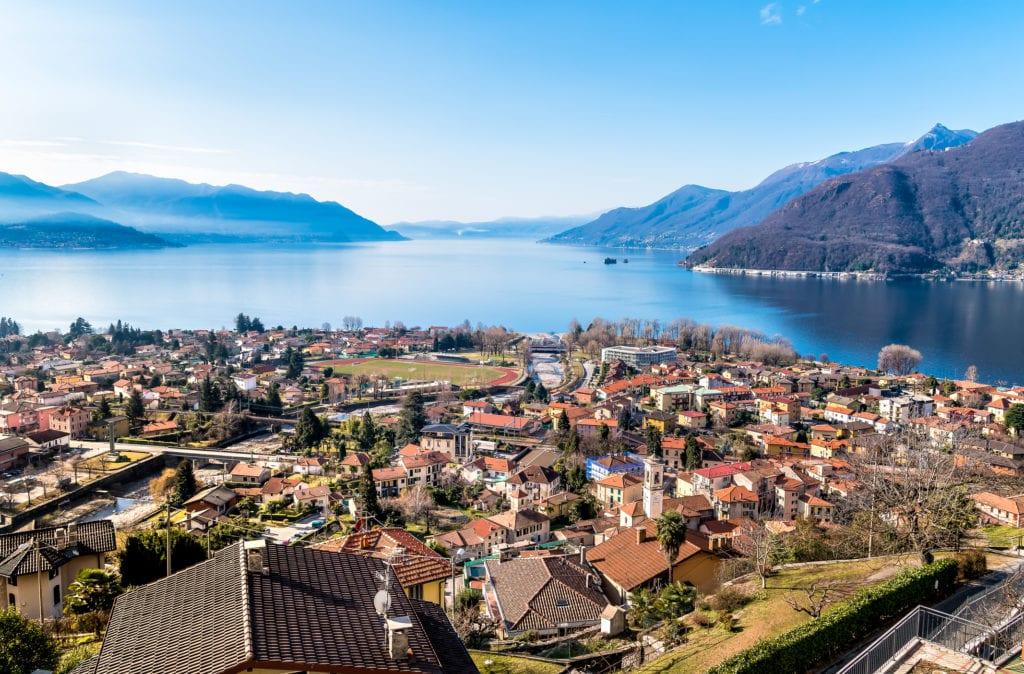 Jezioro Maggiore, Włochy