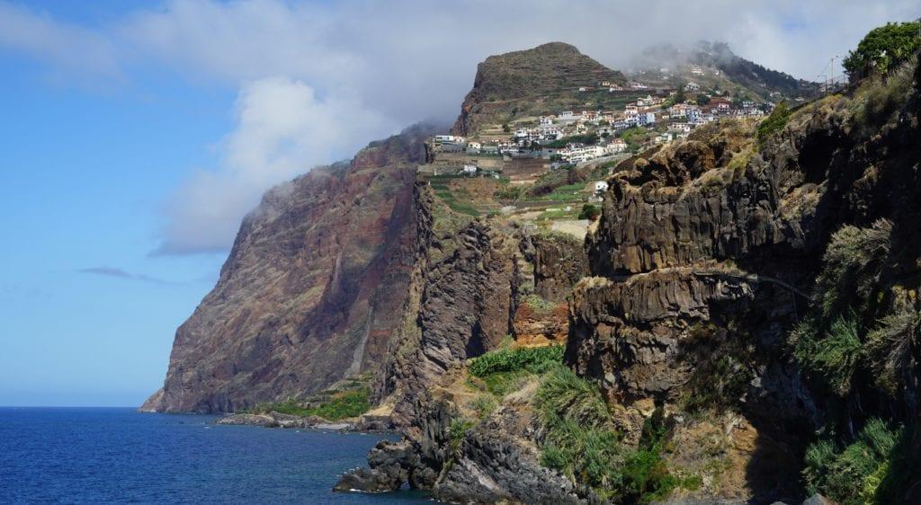 Klify na Maderze,