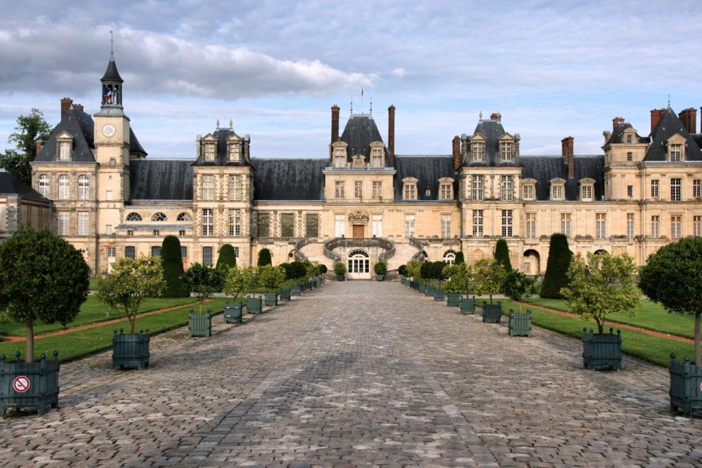 Pałacu Fontainebleau, UNESCO Francja