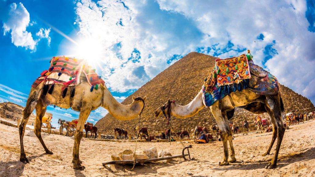 Piramida Cheopsa w Gizie, Egipt