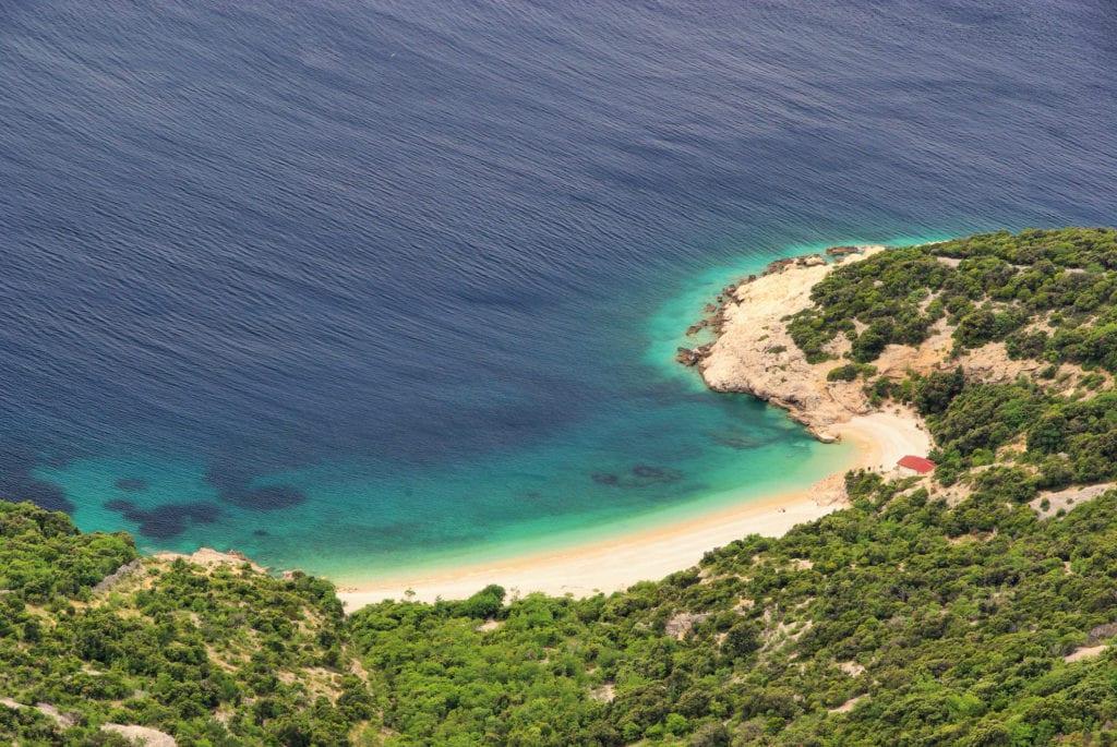 Plaža Sv. Ivan, wyspa Cres,Lubenice