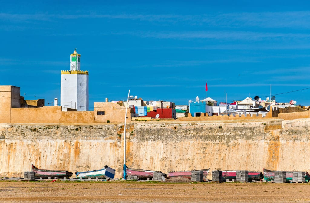 Portugalskie miasto Mazagan, Maroko