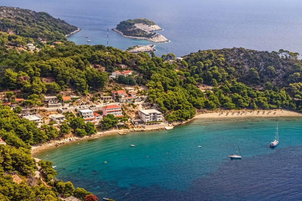 Saplunara, wyspa Mljet, Chorwacja