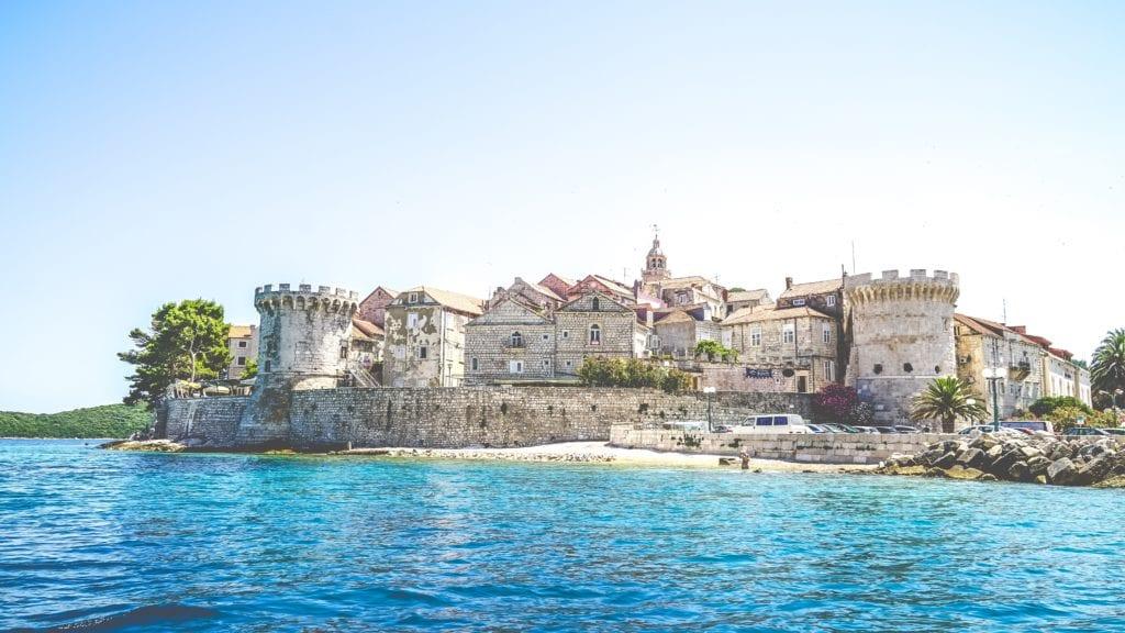 Stare miasto Korčula, Chorwacja