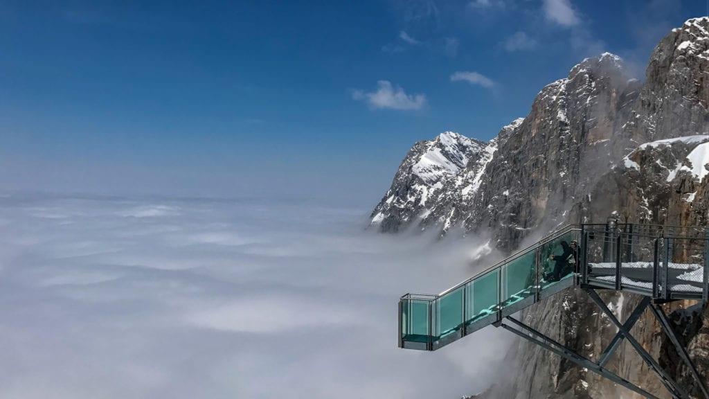 Szklana platforma SkyWalk Dachstein, Austria