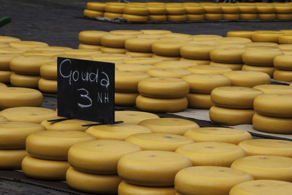 Targ serowy w Alkmaar, Holandia