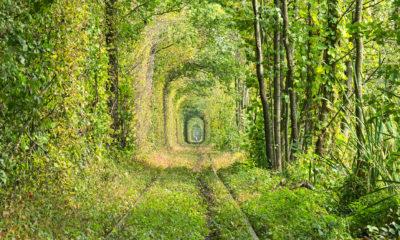 Tunel Miłości, Klewań Ukraina