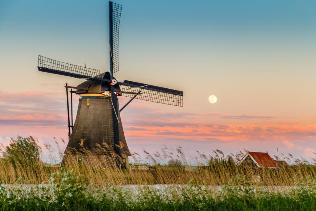 Watraki w Kinderdijk, Holandia UNESCO