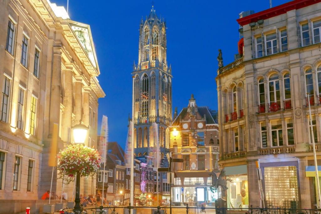 Wieża Domtoren, Ultrecht Holandia