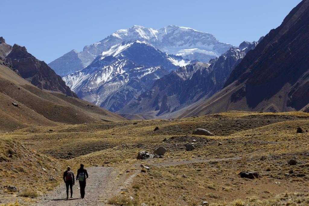 Aconcagua to najwyższy szczyt Argentyny i całej obu Ameryk,