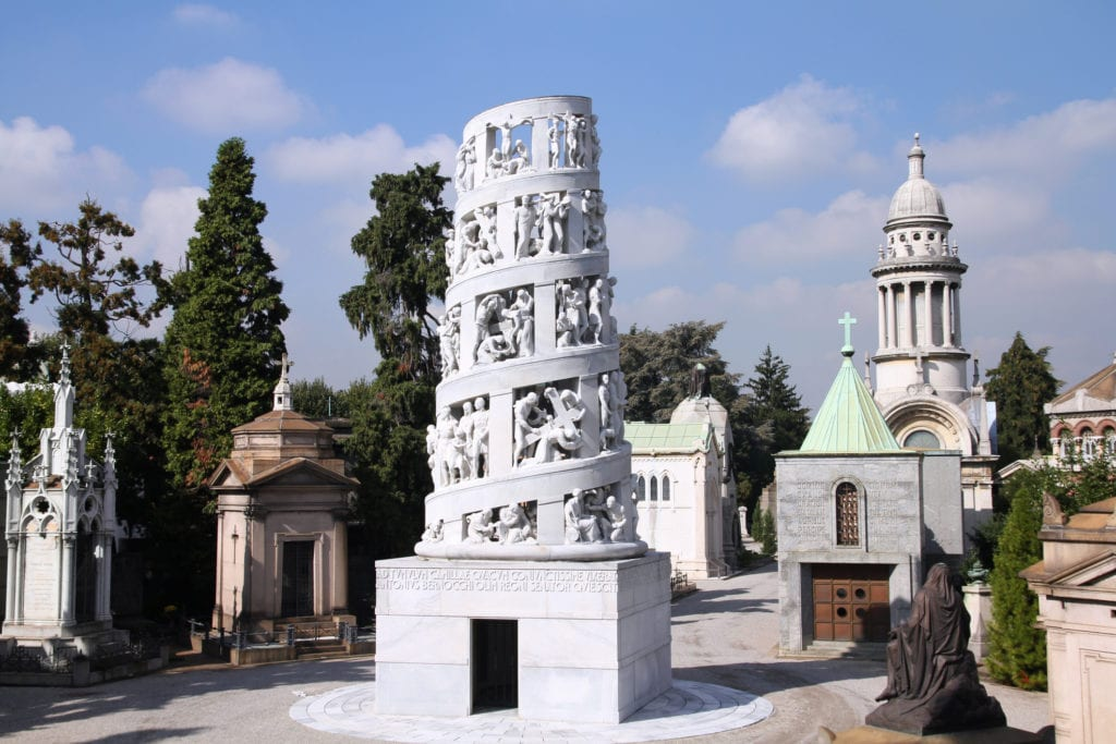 Cimitero Monumentale, cmentarz Mediolan