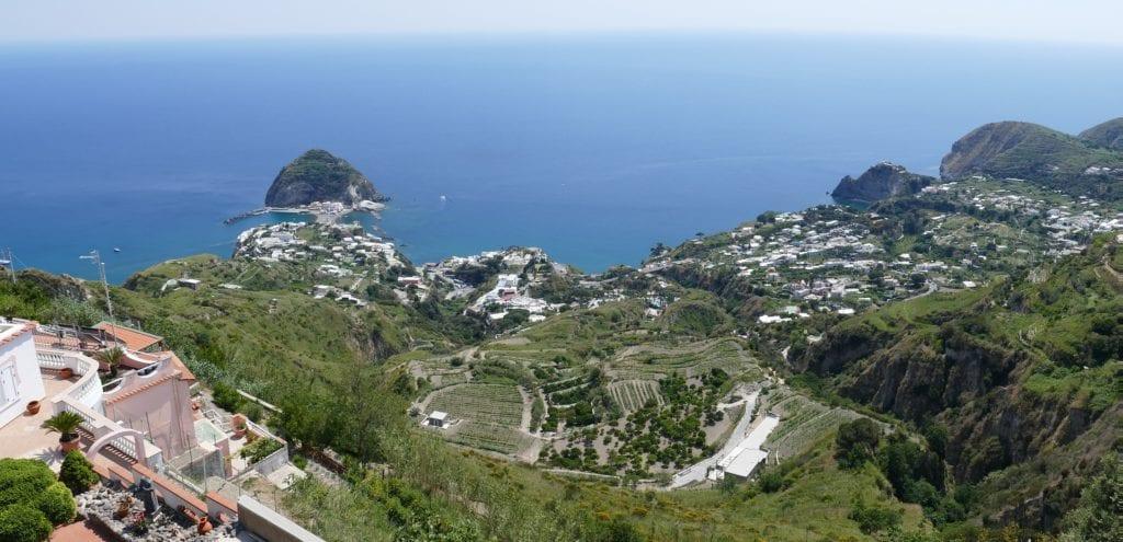 Ischia, włoska wyspa