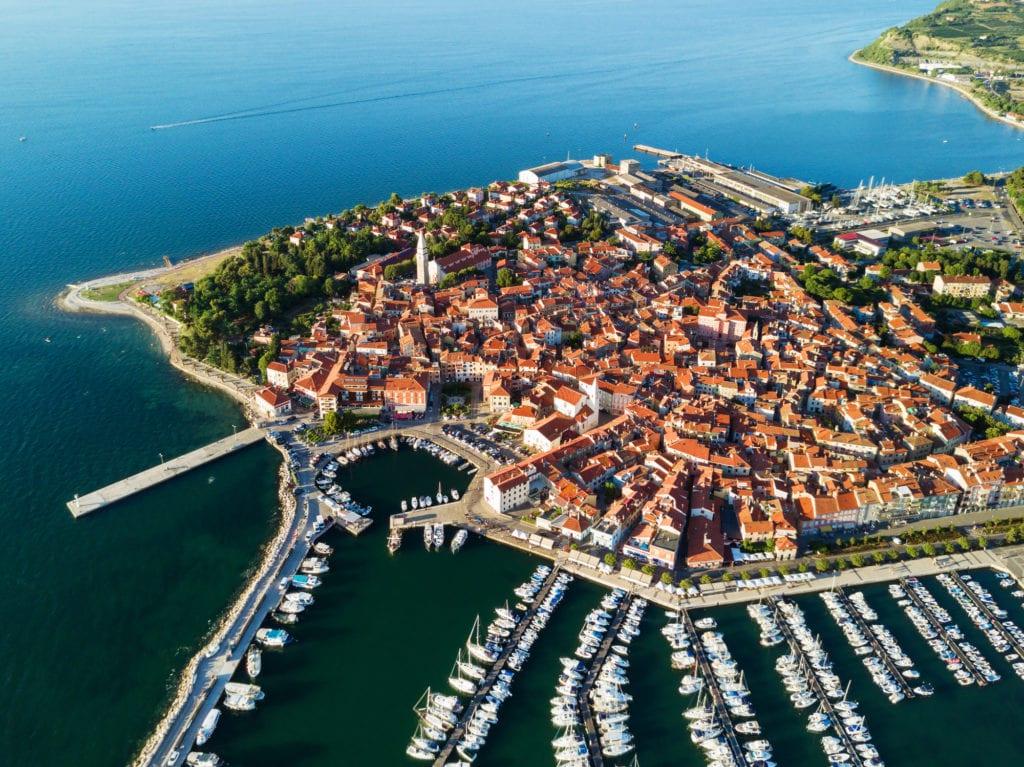 Izola, Morze Adriatyckie Słowenia