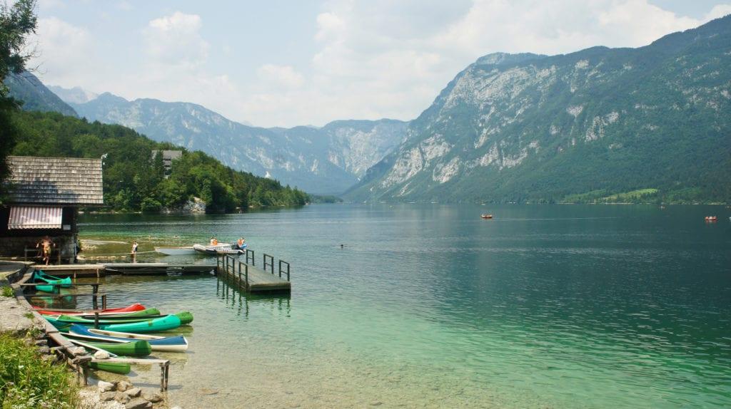 Jezioro Bohinjsko, Słowenia