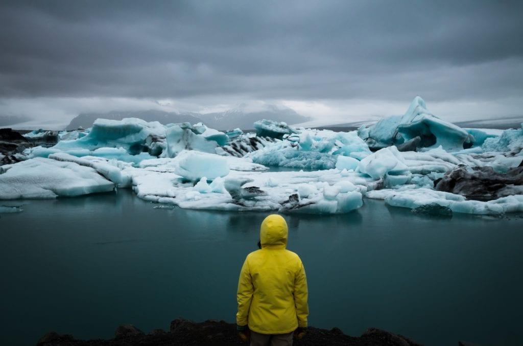 Jezioro Jökulsárlón, Islandia