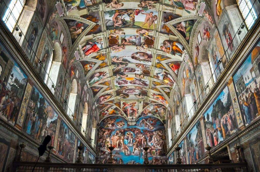 Kaplica Sykstyńska, Muzea Watykańskie Rzym