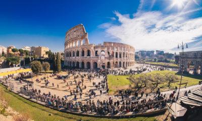Koloseum jest jednym z symboli Rzymu, Rzym