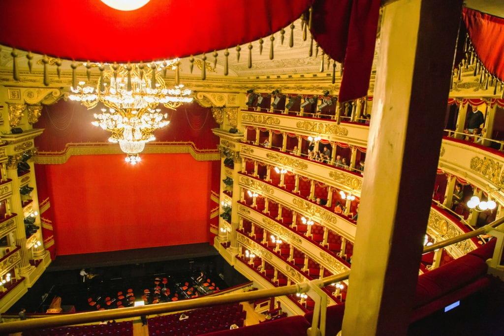 La Scala, opera w Mediolanie