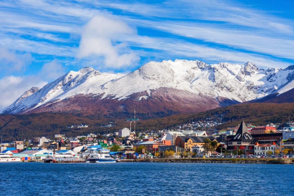 Miasto Ushuaia, Ziemia Ognista Argentyna