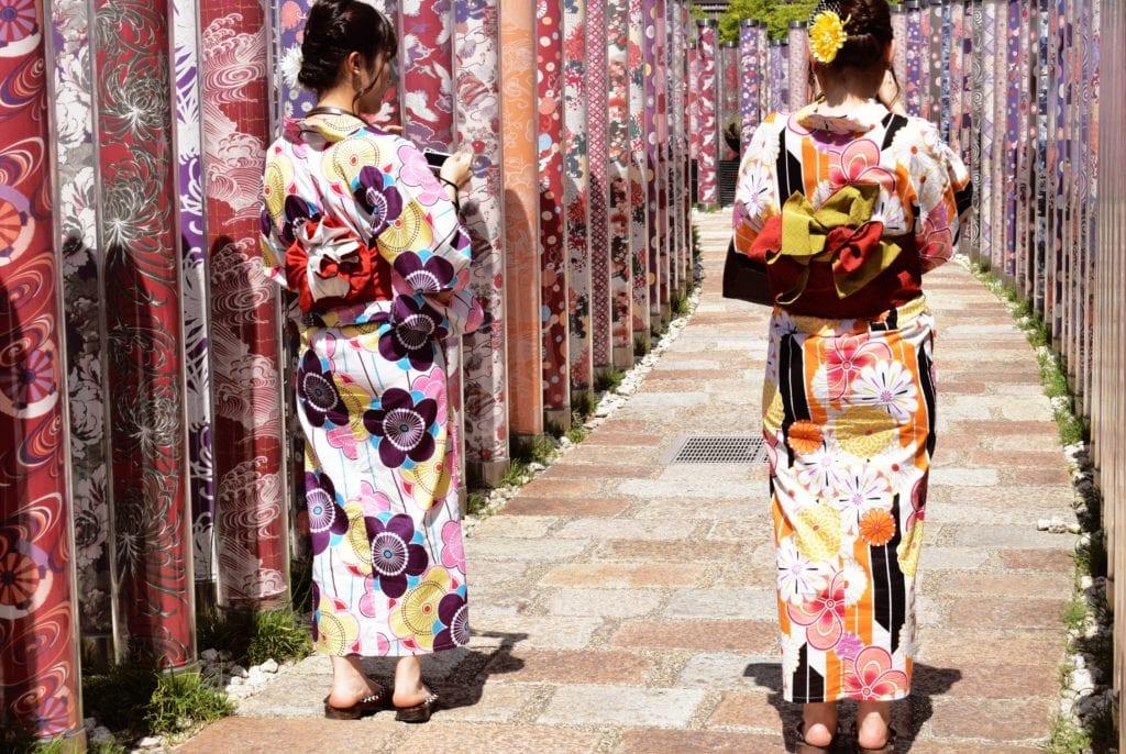 Oryginalną pamiątką z Japonii będzie kimono,