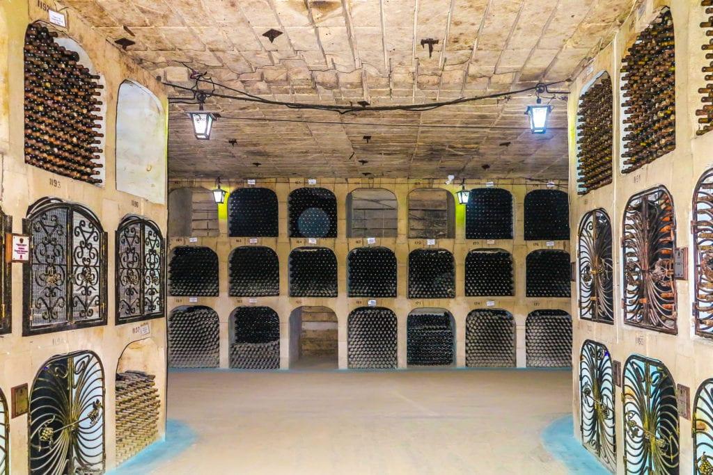 Piwnice z winem w Milestii Mici mają ok. 200 km długości, Kiszyniów