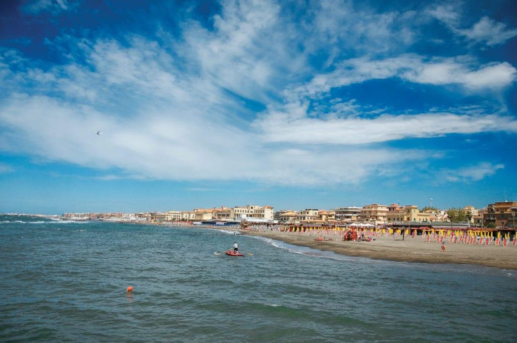 Plaże w Ostii, plaże niedaleko Rzymu