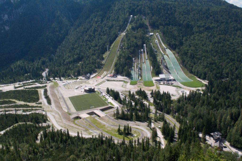 Skocznie w Planicy, skoki narciarskie Słowenia