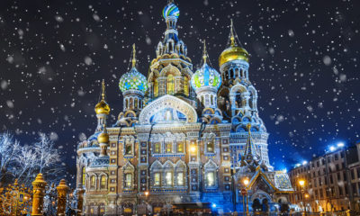 Sobór Zmartwychwstania Pańskiego w Sankt Petersburgu, Rosja