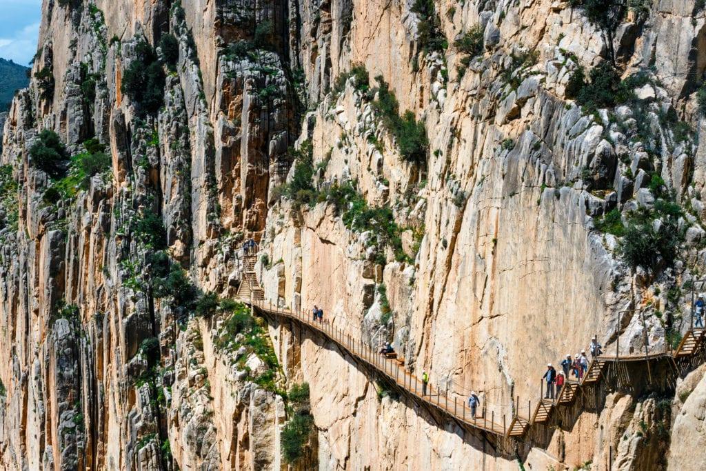 Szlak Caminito del Rey,Andaluzja