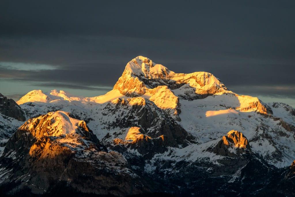Triglav, najwyższczy szczyt Słowenii