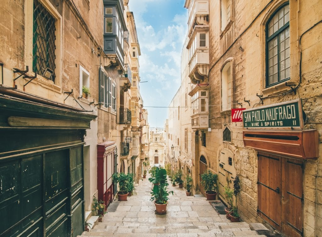 Valletta, stolica Malty,