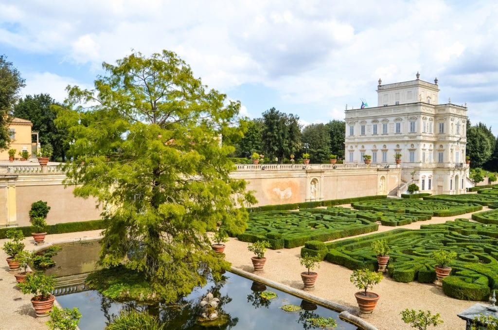 Villa Doria Pamphilj, niedaleko Rzymu