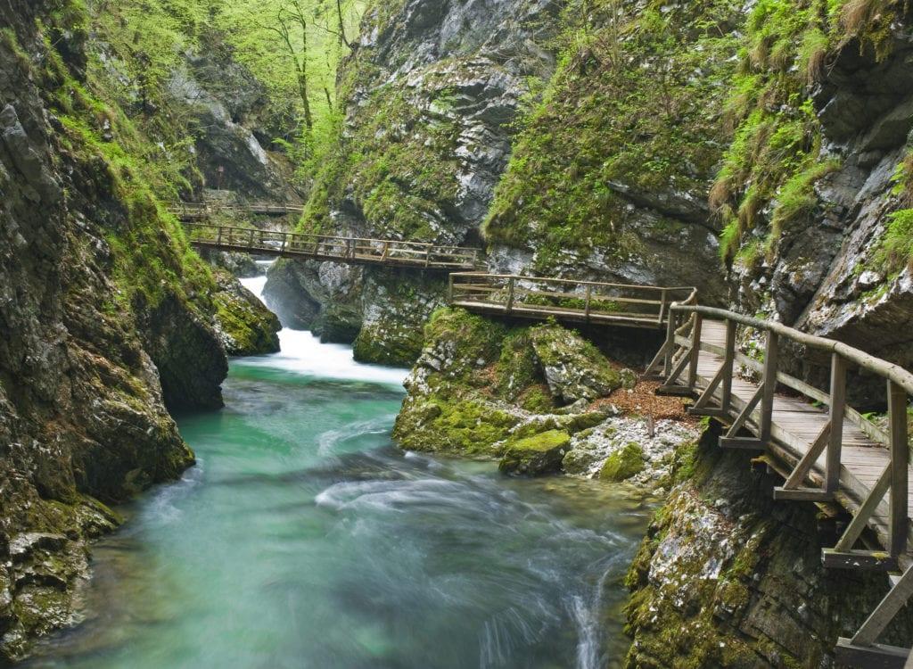 Wąwóz Vintgar, Słowenia