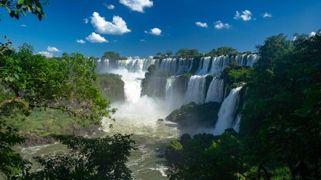Wodospad Iguazú, Argentyna