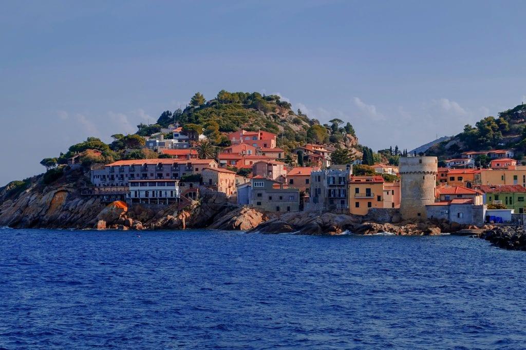 Wyspa Giglio, włoska wyspa