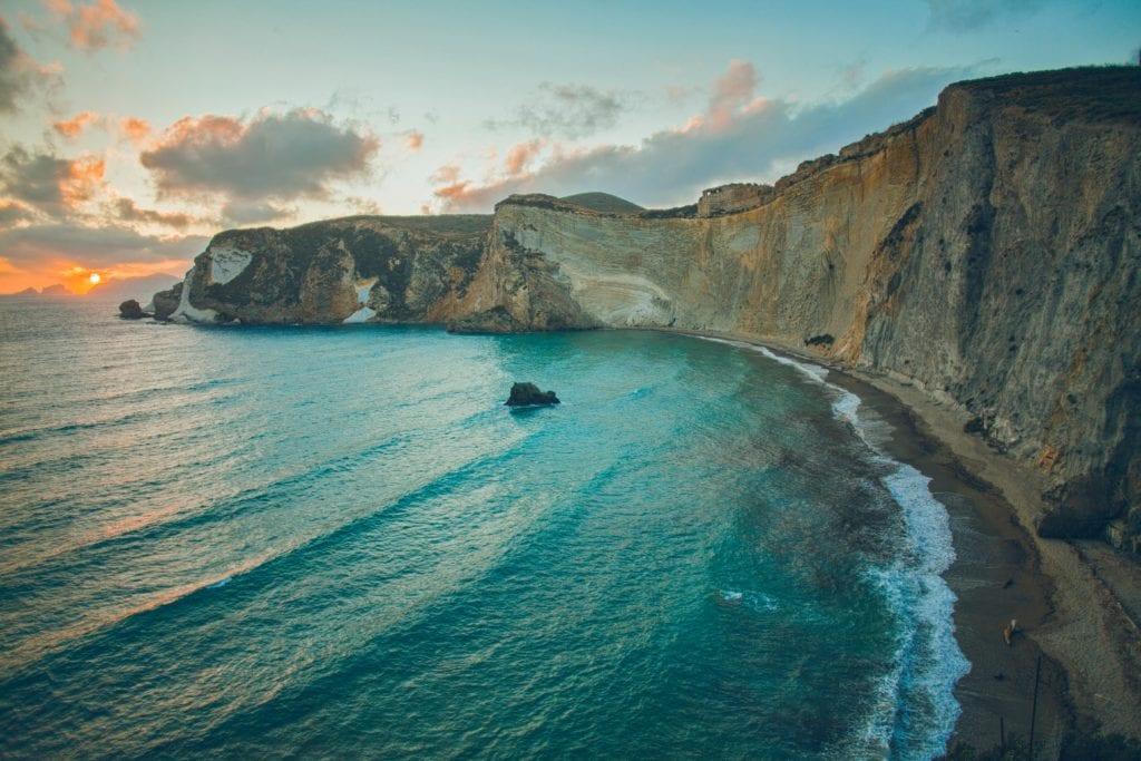 Wyspa Ponza, włska wyspa