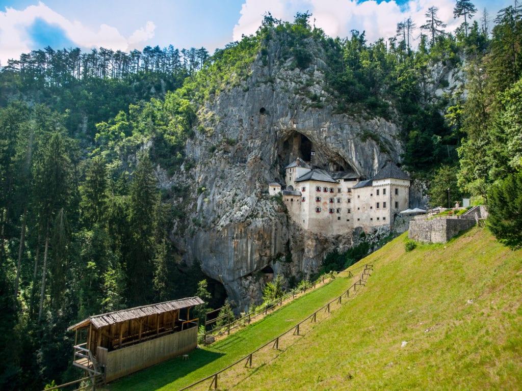 Zamek Predjama, Słowenia