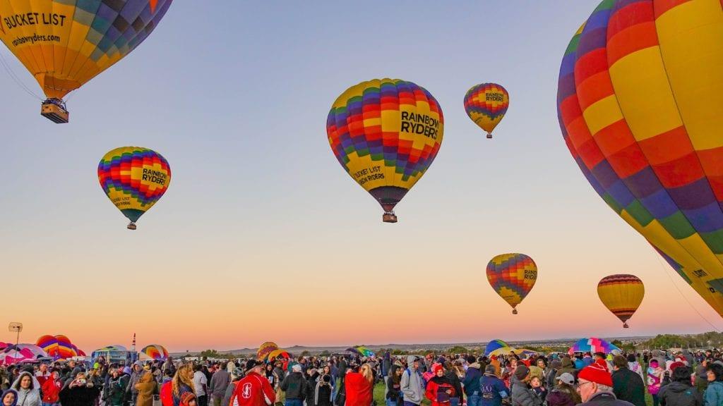 Święto balonów w Albuquerque, USA