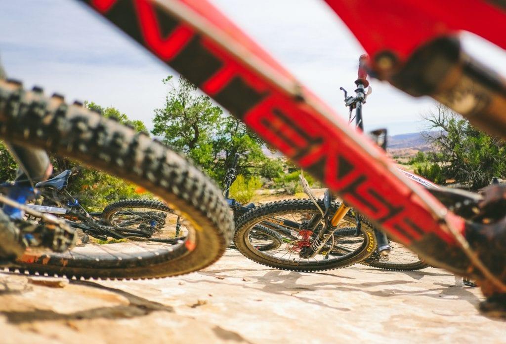 Adrenalina na rowerze - w Moab jest gwarantowana, Utah USA