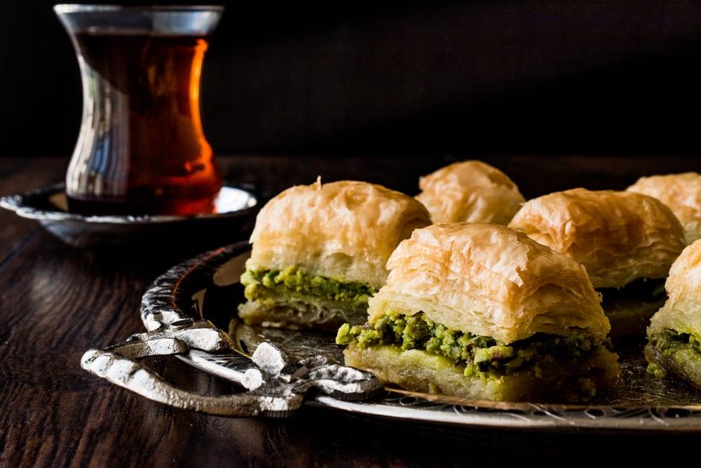 Baklava jest jednym z tureckich przysmaków