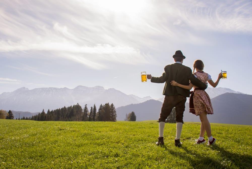 Bawaria słynie z piwa, Oktoberfest