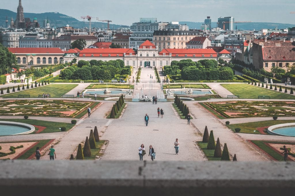 Belweder we Wiedniu, Austria