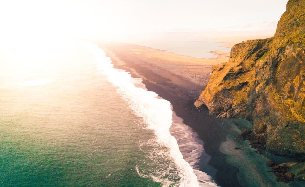 Czarna plaża Reynisfjara, Islandia