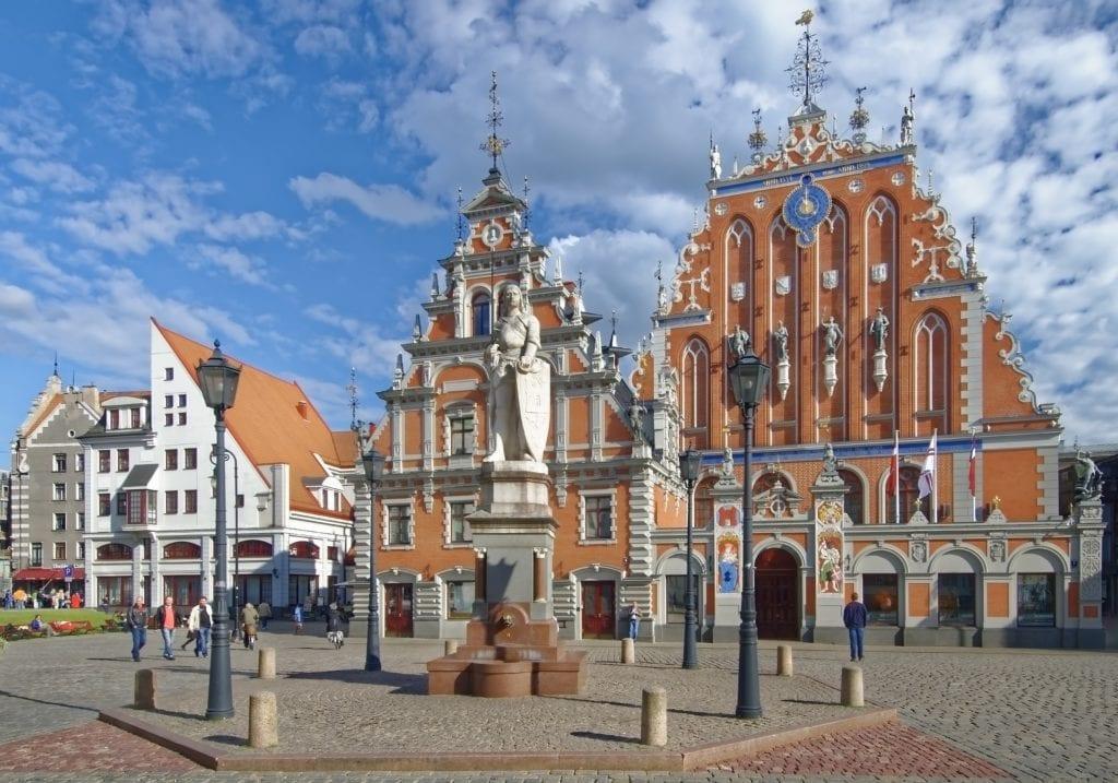 Dom Czarnogłowych w Rydze, Łotwa