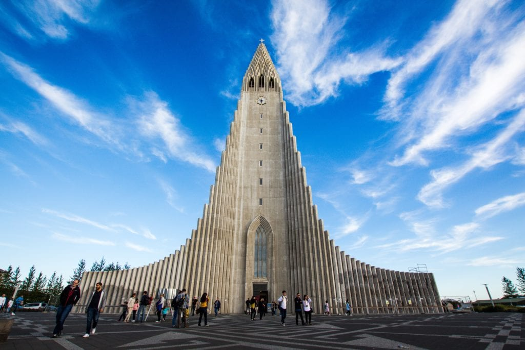 Hallgrímskirkja, Reykjavik, Islandia