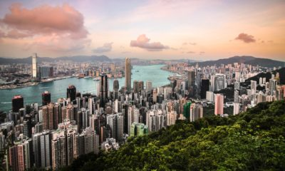Hongkong we wzgórza Wiktorii,