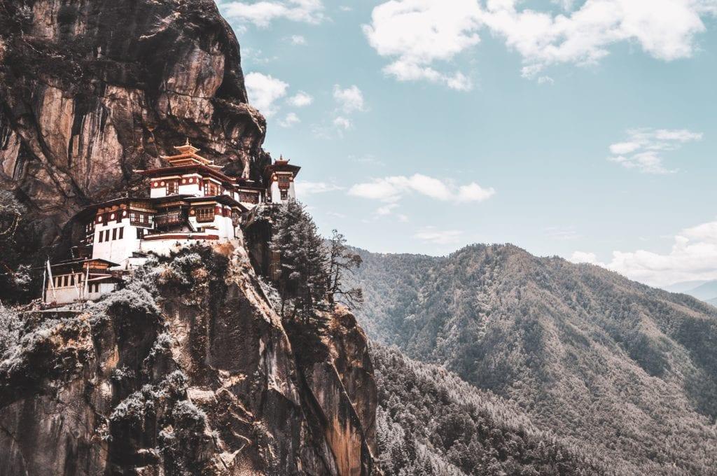 Kklasztor Paro Taktsang, Bhutan Himalaje