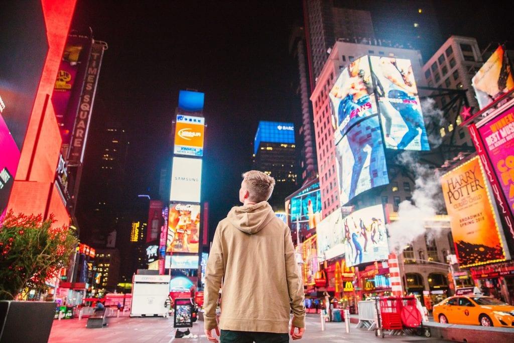 Times Square, Nowy Jork, USA