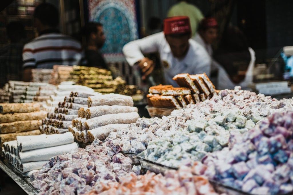 Tureckie przysmaki kupisz na każdym rogu
